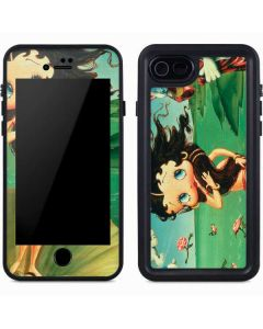 Betty Boop at Sea iPhone 7 Waterproof Case