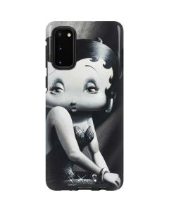 Betty Boop Black and White Galaxy S20 Pro Case