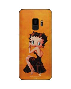 Betty Boop Little Black Dress Galaxy S9 Skin