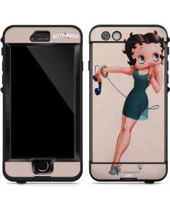 Betty Boop on the phone LifeProof Nuud iPhone Skin