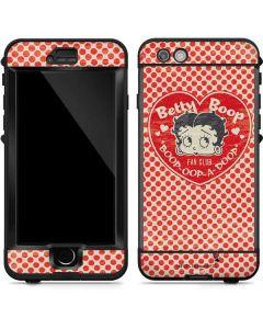 Betty Boop Red Heart LifeProof Nuud iPhone Skin