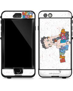 Betty Boop Splatter LifeProof Nuud iPhone Skin