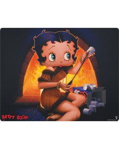 Betty Boop roasting marshmallows Galaxy Book Keyboard Folio 12in Skin