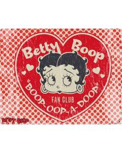Betty Boop Red Heart Galaxy Book Keyboard Folio 12in Skin