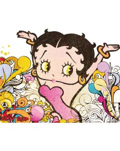 Betty Boop Hands Up Amazon Kindle Skin