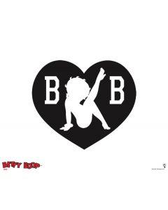 Betty Boop BW Apple MacBook Pro Skin