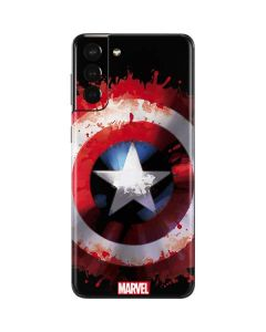 Captain America Shield Galaxy S21 Plus 5G Skin