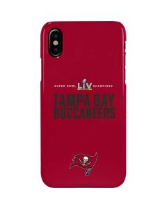 Super Bowl LV Champions Tampa Bay Buccaneers iPhone XS Max Lite Case