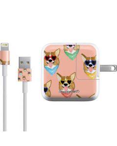 Corgi Love iPad Charger (10W USB) Skin