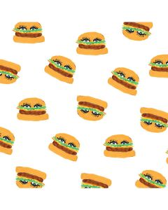 Cute Burgers LifeProof Nuud iPhone Skin
