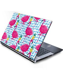 Party Flamingos Generic Laptop Skin
