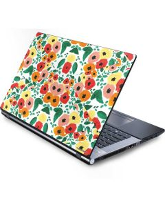 Geometric Flowers Generic Laptop Skin