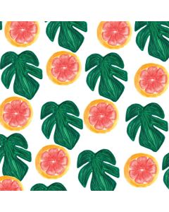 Tropical Leaves and Citrus LifeProof Nuud iPhone Skin