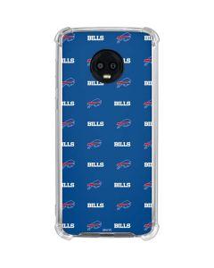 Buffalo Bills Blitz Series Moto G6 Clear Case