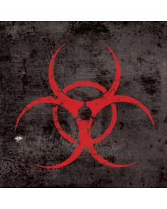 Biohazard Red Galaxy Book Keyboard Folio 12in Skin