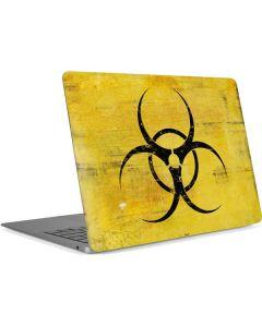 Biohazard Large Apple MacBook Air Skin