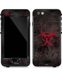Biohazard Red LifeProof Nuud iPhone Skin