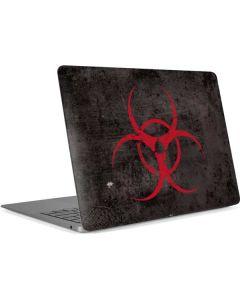 Biohazard Red Apple MacBook Air Skin