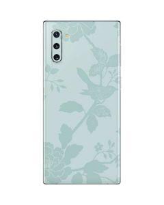 Bird Floral Galaxy Note 10 Skin