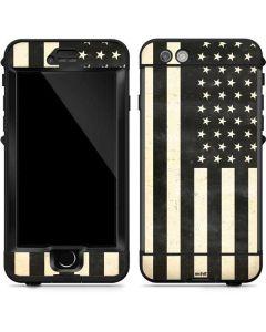 Black & White USA Flag LifeProof Nuud iPhone Skin