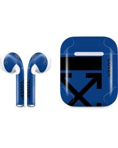 Black and Blue Arrows Apple AirPods Skin