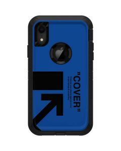 Black and Blue Arrows Otterbox Defender iPhone Skin