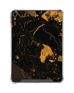 Black and Gold Scattered Marble iPad Pro 11in (2018-19) Clear Case