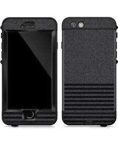 Black and Grey Stripes LifeProof Nuud iPhone Skin
