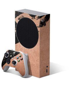 Black and Rose Gold Marble Split Xbox Series S Bundle Skin