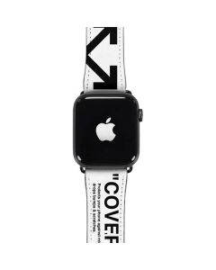 Black and White Arrows Apple Watch Case