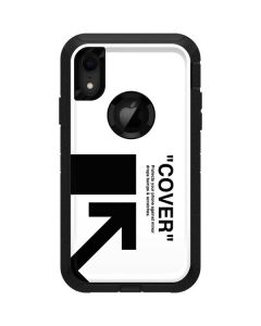 Black and White Arrows Otterbox Defender iPhone Skin