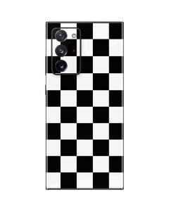 Black and White Checkered Galaxy Note20 Ultra 5G Skin
