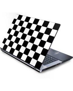Black and White Checkered Generic Laptop Skin