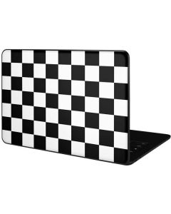 Black and White Checkered Google Pixelbook Go Skin