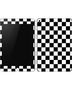 Black and White Checkered Apple iPad Mini Skin