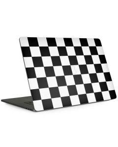Black and White Checkered Apple MacBook Pro 15-inch Skin