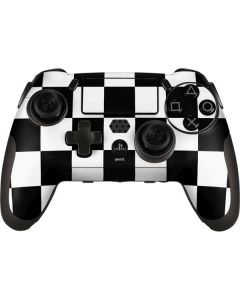 Black and White Checkered PlayStation Scuf Vantage 2 Controller Skin