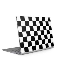 Black and White Checkered Surface Book 2 15in Skin