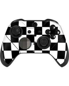 Black and White Checkered Xbox Elite Wireless Controller Series 2 Skin