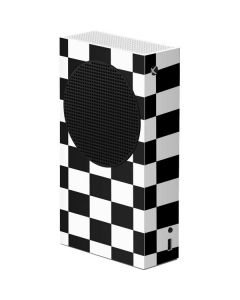 Black and White Checkered Xbox Series S Console Skin
