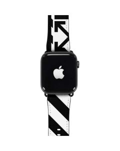 Black and White Geometric Shapes Apple Watch Band 42-44mm