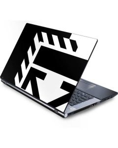 Black and White Geometric Shapes Generic Laptop Skin