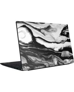 Black and White Marble Ink Dell Vostro Skin