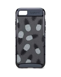 Black and White Pineapples iPhone 8 Cargo Case