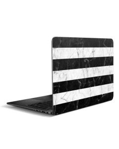Black and White Striped Marble Zenbook UX305FA 13.3in Skin