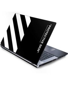 Black and White Stripes Generic Laptop Skin