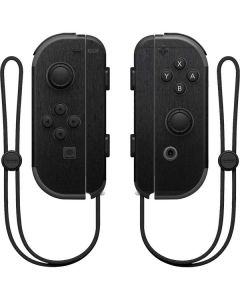 Black Brushed Steel Texture Nintendo Joy-Con (L/R) Controller Skin
