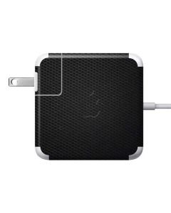 Black Hex 85W Power Adapter (15 and 17 inch MacBook Pro Charger) Skin