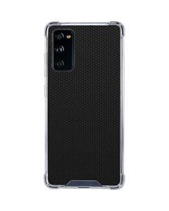 Black Hex Galaxy S20 FE Clear Case