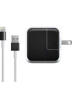 Black Hex iPad Charger (10W USB) Skin